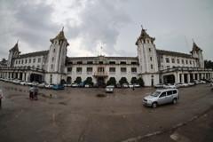 ヤンゴン駅 鉄道環状線 ミャンマー
