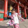 浅草寺で舞う