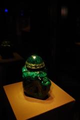 ウィーン3日目 王宮 宝物展 翡翠の塊