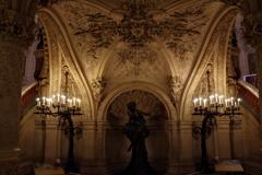 オペラ・ガルニエ 地下 怪人がいてもおかしくない雰囲気