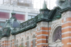 soft focusレンズで横浜開講記念館