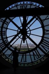 オルセ-美術館 時計裏よりモンマルトルの丘