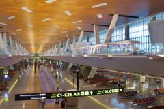 ウィ-ン・チェコの旅 ド-ハ空港 綺麗でした