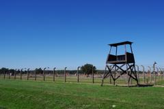 アウシュビッツ強制収容所 見張り台