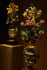ウィーン3日目 王宮 宝物展 宝石の花