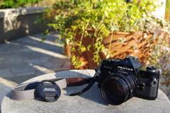 pentax MX + Fa 77mm f1.8 limited