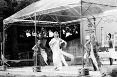 日本インド友好パレード(モノクロフィルム)