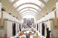 オルセ-美術館 美しいです。