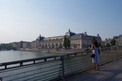 橋より オルセ-美術館