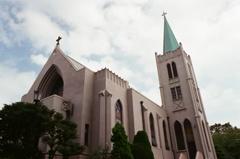 フィルム 西洋館近辺 教会