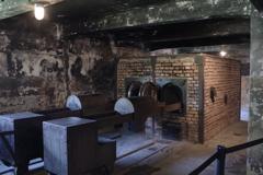アウシュビッツ強制収容所 ガス室の隣の焼却炉