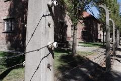 アウシュビッツ強制収容所 電気が流れてました