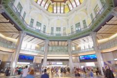 東京散歩 東京駅改札 こんなに綺麗でしたっけ?