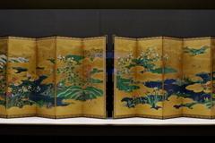 東京国立博物館 屏風