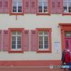 Rastattぶらぶら クリーム色の建物