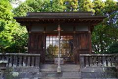 大分ちょっと旅行 臼杵城跡 神社 雰囲気があります