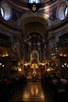 ウィーン1日目 古い教会