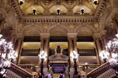 オペラ・ガルニエ 中央階段