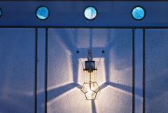 フィルム 大佛次郎記念館 威厳がある猫の照明