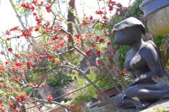 常泉寺 女性のカッパ