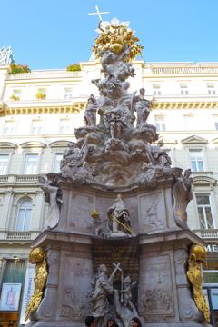ウィーン1日目 立派な像