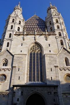 ウィーン1日目 シュテファン大聖堂 もっと広角が欲しかった・・・