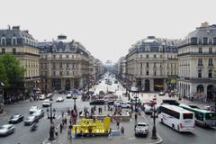 パリ中心 オペラ・ガルニエより 中心地