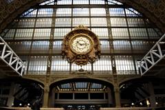 オルセ-美術館 鉄道の駅舎の名残 大時計