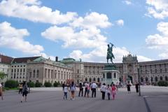 ウィーン ホーフブルク宮殿 正面