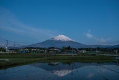 富士山リフレ