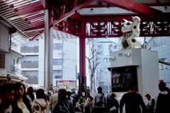 大須の招き猫 ライカ二本目 その③