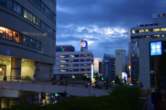 駅前歩道橋