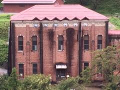 赤煉瓦造りの発電所
