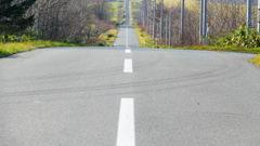 まっすぐな道〜北海道