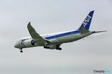 「☁」 ANA 787-8 JA813A 着陸