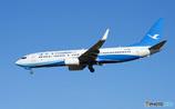 [青い空] 厦門航空 737-85C Landing