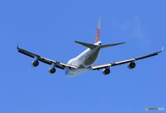 「良い空~」 China 747-400 B-18721 Takeoff