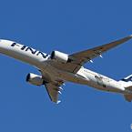 「賀正」 FINNAIR A350-941 OH-LWE 飛び立ちです
