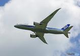 「空色」 ANA 787 JA838A 飛び立ち