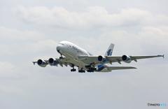 「はれー」 Malaysia A380-841 9M-MNB Takeoff