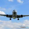 「はれー」 ANA 777-200 JA714A 着陸 します