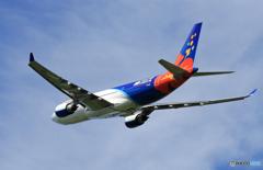 「良い天気」 Air Calin A330-202 F-OJSE 離陸