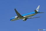 「空色」 KLM 777 PH-BVC 飛び立ち