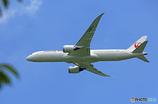 「空色」 JAL 787-9 JA867J 飛び立ち