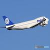 「すかい」 POLAR 747 N450PA 飛び立ちです