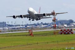 「ぶるー」 THAI A380-841 HS-TUF 出発です