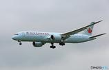 「☁」 Air Canada 787-9 N17963 着陸