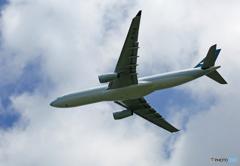 「はれー」 Cathay A330-343 B-HLM Takeoff