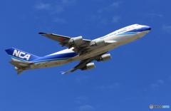 ☀「青い空」が一番NCA 747-400F JA05KZ