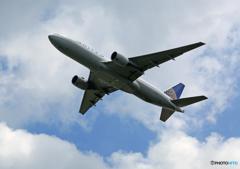 「はれー」 UNITED 777-222 N773UA Takeoff